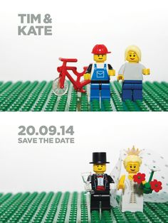 Lego Save The Dates