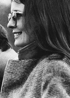 Diane Keaton on the set of Annie Hall (Woody Allen; 1977)