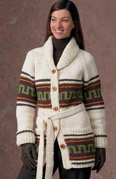Navajo knit free pattern