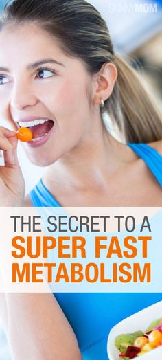 Great article on how to speed up your metabolism