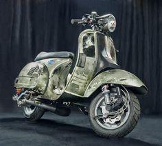 vespa px200 racing biker - Buscar con Google