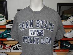 Penn State Nittany Lions T-shirt Jansport Gray Blue Large XL NCAA Tee PSU tee #Jansport #PennStateNittanyLions