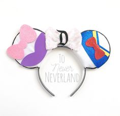 A personal favorite from my Etsy shop https://www.etsy.com/listing/495544706/donald-and-daisy-ears-daisy-duck-ears