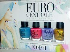 OPI mini collection Euro Centrale
