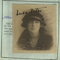 Linda Lee Thomas Porter 1920 | Linda Lee Thomas married Cole… | Flickr