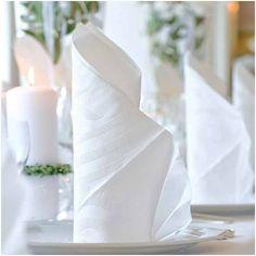 SERWETKI tłoczone Lily Białe Elegance 40szt #slub #wesele #sklepslubny #dekoracje #slubnezakupy