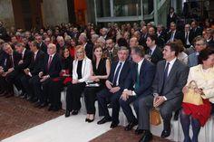"""SM la Reina Consorte Letizia en la entrega de los premios """"Barco de Vapor"""" y """"Gran Angular"""" de literatura Juvenil. 19-04-2016"""