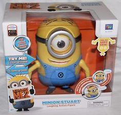 9cad7de027 Thinkway Despicable Me 2 Talking Minion - Stuart Action Figure