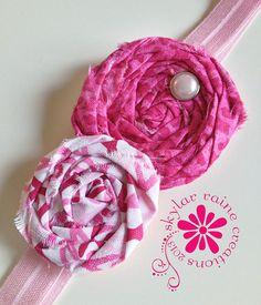 BREAST CANCER headband   by Skylar Raine on Etsy #breastcancerheadband #breastcancerawareness #rockthepink