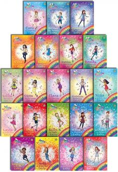 Rainbow Magic Collection of 21 Books by Daisy Meadows  #RainbowMagic #Magic #Book #ChildrensBook  http://www.snazal.com/rainbow-magic-daisy-meadows-collection-21-books-set--DEALMAN-U5-RM-21bks(120-140).html
