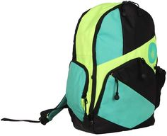 f8b5cb70c Body Glove Mint & Neon Green Mayette Backpack Mochila Para Notebook, Luva,  Mochila De