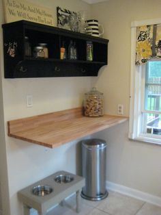 Create Wall Length Counters At Standing Height For Monitors, Drop Downs  Underneath For Key Board. Stools To Alternate Sitting U0026 Standing |  Pinterest ...