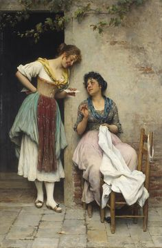 Kai Fine Art is an art website, shows painting and illustration works all over the world. Classic Paintings, European Paintings, Beautiful Paintings, Renaissance Kunst, Renaissance Paintings, Carl Spitzweg, Antoine Bourdelle, Munier, Italian Painters