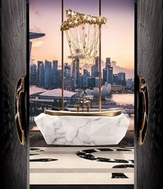 Do you think it's time to transform your bathroom design? Then click to read our article! #luxuryhomes #homedesign #bathroomdecor #homedecor #luxurydesign #luxuryfurniture #contemporarydesign #bathroomideas #luxurybathroom Modern Bathroom, Master Bathroom, Bathroom Ideas, Bathroom Trends, Bathroom Designs, Bathroom Inspo, Bathroom Sinks, Marble Bathtub, Luxury Bathtub