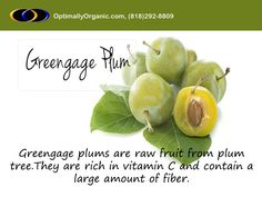 The Greengage is a cultivar of plum with a delightful taste and beautiful confectionary flavor. #healthyeating #healthyliving