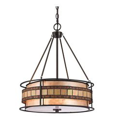 ELK Lighting Annondale 3 Light Pendant in Tiffany Bronze 70196-3 #elk #elklighting #lightingnewyork #lighting  like the detail, but not the color