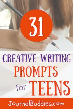 Use these 31 creative writing prompts to help your kids clarify their thoughts and emotions and develop stronger self-identities.