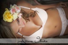Allure Studio | Balsam Lake, WI | Posts | Photography | Boudoir | Soft Pink | Flowers | Wedding |