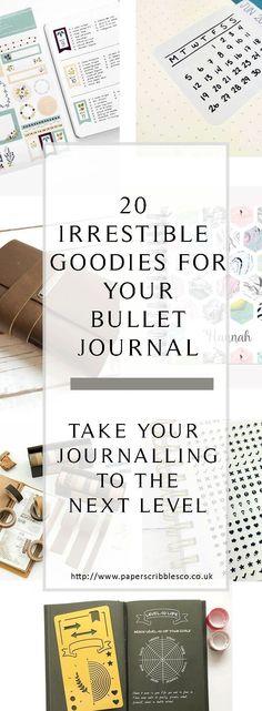 Bullet Journal | BuJo | Bullet Journal Accessories | Bullet Journal Gift Ideas | Bullet Journal Supplies | Planners | Planner Supplies | Planner Accessories | Scrapbooking |  Planner Gift Ideas #scrapbookideas
