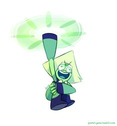 in which peridot does this by Milkii-Ways.deviantart.com on @DeviantArt