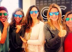 Fotocall en Optica Ciscar. Gafas espejo Valencia, Templates, Mirror, Glasses