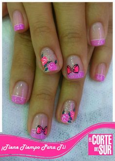 Girls Nail Designs, Short Nail Designs, Nail Designs Spring, Nail Art Designs, Little Girl Nails, Girls Nails, Short Nails Art, Beauty Room, Pedicure