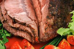Tangy Bacon Beer Braised Top Round Roast Recipe