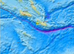 """Σεισμός """"μαμούθ"""" στα νησιά Σολομώντα! 8 Ρίχτερ, προειδοποίηση για τσουνάμι!"""