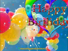 This video is seconds long, HD, format 1980 X Two colorful blinking hearts and a upbeat cheery happy birthday song. Animated Happy Birthday Wishes, Free Happy Birthday Cards, Happy Birthday Greetings Friends, Happy Birthday Wishes Photos, Happy Birthday Celebration, Happy Birthday Video, Happy Birthday Candles, Birthday Wishes Cards, Happy Birthday Messages
