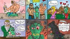 Necromancer :)) #adminpanpa #mizah #karikatur #comic #humor #caricature #oyun #games #mmo #mmorpg #gw2 #GuildWars2 #wow #cooking #smoke #necromancer