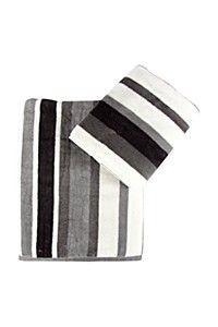 WALES VELOUR STRIPE TOWEL