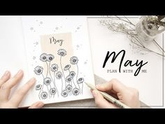 PLAN WITH ME | May 2018 Bullet Journal Setup - YouTube