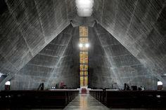 Kenzo Tange, Xia Zhi · Tokyo St.Mary's Cathedral. Sekiguchi, Bunkyo-ku, Tokyo, Japan · Divisare