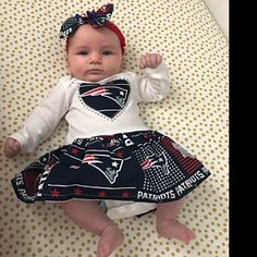 New England Patriots Inspired Baby Coming-Home Outfit 91538756d