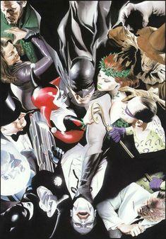 Batman's rogues [Alex Ross]
