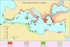 Grecia y Fenicia - Expansión