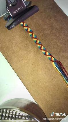 Diy Bracelets With String, Diy Bracelets Easy, Bracelet Crafts, Diy Christmas Star, Diy Friendship Bracelets Patterns, Diy Braids, Crochet Rope, Diy Keychain, Upcycled Crafts