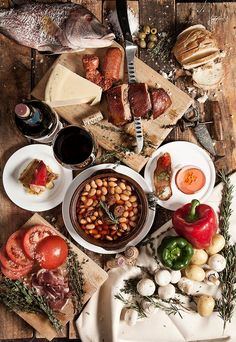 Not a place ... but Spanish food (do you recognize anything). Photo by: Felix Hernandez (500px.com)