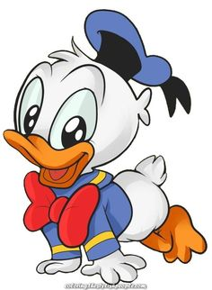 Donald Duck Baby Cartoon Clip Art Images Are Large PNG Format On A Transparent Background.All Cartoon Donald Duck Baby Images Are For Your Own Personal Use. Mickey Mouse Drawings, Cute Disney Drawings, Disney Clipart, Art Clipart, Duck Cartoon, Baby Cartoon, Disney Crafts, Disney Art, Donald Duck Drawing