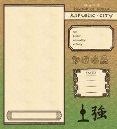 Republic City Earthbender App Template by Psyoren.deviantart.com on @DeviantArt