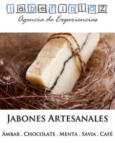 Los jabones artesanales también son un buen detalle como souvenirs en los eventos (ámbar, canela, lavanda, chocolate, café, avena con miel)