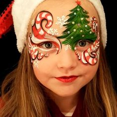 "161 Likes, 9 Comments - Ilse Kusters (@kustersilse) on Instagram: ""...Blowing SugarSweet Christmas Kisses your way...  #mylumenart #kustersilse #faceart…"""