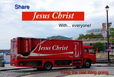 Hong Kong.  Share Jesus Christ with... everyone!   Scripture photo