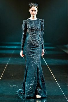 Gown by Michael Cinco Fall 2013 Couture
