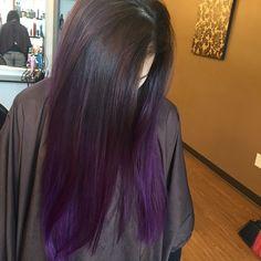 Multi-Tonal Violet Balayage 1