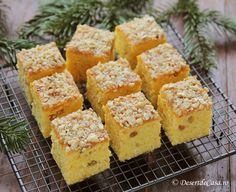 prajituri de post Baby Food Recipes, Dessert Recipes, Tasty, Yummy Food, Confectionery, Cornbread, Deserts, Cookies, Ethnic Recipes