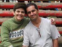 Eu e minha esposa Elza