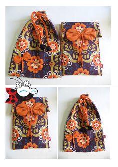 Case para mini Ipad com saquinho para guardar os cabos!  www.mimusideias.com.br