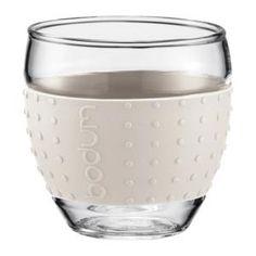 Bodum Pavina Vaso 0,1L Blanco 11165-913B
