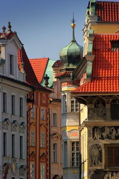 Incredible architecture of old town Prague, Czech Republic / photo by star seeds  via Mme Scherzo
